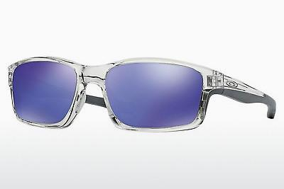 Lunettes de soleil Oakley CHAINLINK (OO9247 924706) - Blanches, Clear