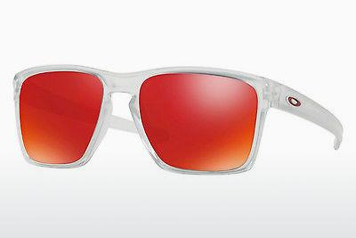 Lunettes de soleil Oakley SLIVER XL (OO9341 934109) - Blanches, Clear