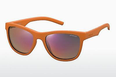 Lunettes de soleil Polaroid Kids PLD 8018/S H0A/OZ - Orange