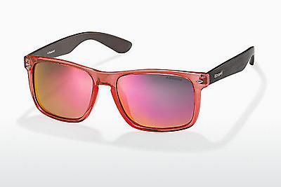 Sonnenbrille Polaroid PLD 6008/S QID/OZ - Orange, Braun, Havanna