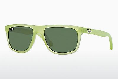 Sonnenbrille Ray-Ban Junior RJ9057S 198/71 - Grün, Acid