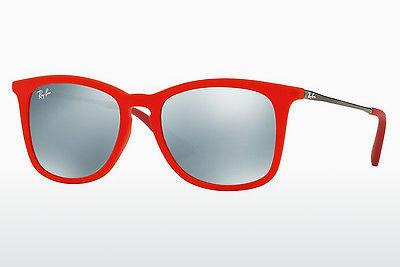 Sonnenbrille Ray-Ban Junior RJ9063S 701030 - Transparent, Rot