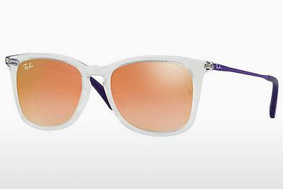 Sonnenbrille Ray-Ban Junior RJ9063S 7030B9 - Weiß, Transparent