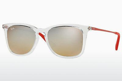 Sonnenbrille Ray-Ban Junior RJ9063S 7031B8 - Weiß, Transparent