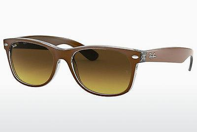 Sonnenbrille Ray-Ban NEW WAYFARER (RB2132 614585) - Braun, Transparent