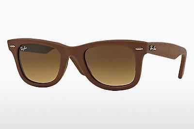 Occhiali da vista Ray-Ban WAYFARER LEATHER (RB2140QM 116985) - Marrone