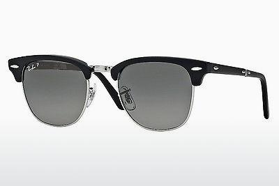 Sonnenbrille Ray-Ban CLUBMASTER FOLDING (RB2176 901SM8) - Schwarz