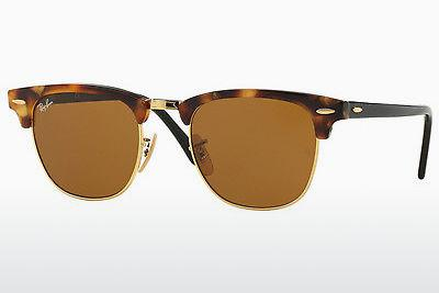 Sonnenbrille Ray-Ban CLUBMASTER (RB3016 1160) - Braun