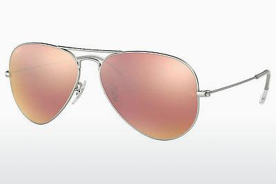 Occhiali da vista Ray-Ban AVIATOR LARGE METAL (RB3025 019/Z2) - Argentato