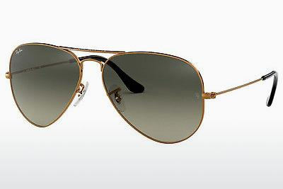 Sonnenbrille Ray-Ban AVIATOR LARGE METAL (RB3025 197/71) - Braun