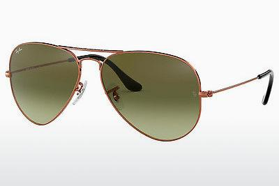 Occhiali da vista Ray-Ban AVIATOR LARGE METAL (RB3025 9002A6) - Marrone