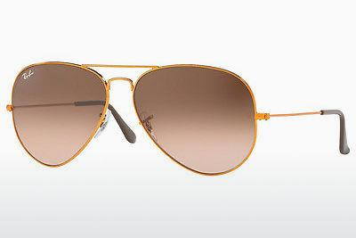 Occhiali da vista Ray-Ban AVIATOR LARGE METAL II (RB3026 9001A5) - Marrone
