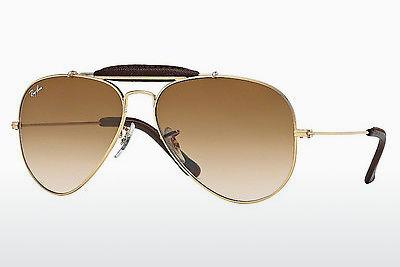 Sonnenbrille Ray-Ban AVIATOR CRAFT (RB3422Q 001/51) - Gold
