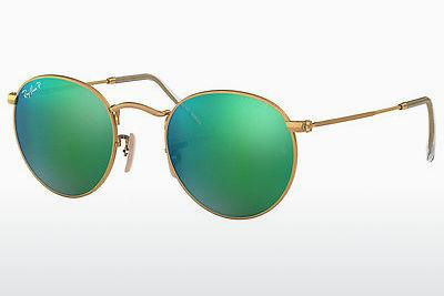 Lunettes de soleil Ray-Ban ROUND METAL (RB3447 112/P9) - Or