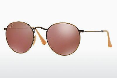 Occhiali da vista Ray-Ban ROUND METAL (RB3447 167/2K) - Marrone