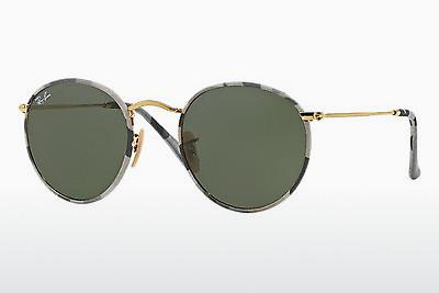 Sonnenbrille Ray-Ban ROUND METAL (M) (RB3447JM 171) - Gemustert, Camouflage