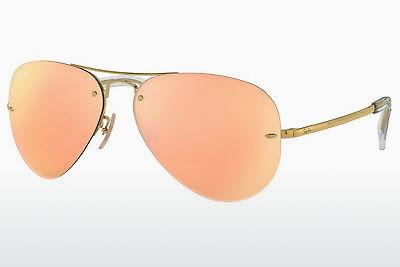 Sonnenbrille Ray-Ban RB3449 001/2Y - Gold