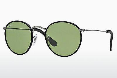 Sonnenbrille Ray-Ban ROUND CRAFT (RB3475Q 029/14) - Grau, Rotguss