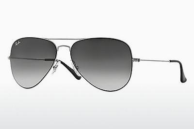 Lunettes de soleil Ray-Ban AVIATOR FLAT METAL (RB3513 154/8G) - Argent