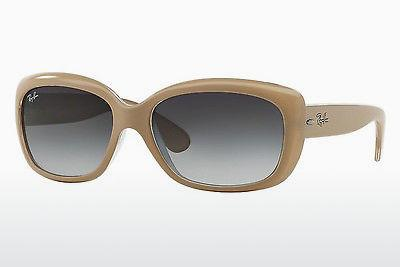 Sonnenbrille Ray-Ban JACKIE OHH (RB4101 61728G) - Weiß, Transparent