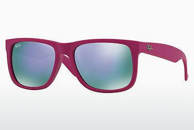 Sonnenbrille Ray-Ban JUSTIN (RB4165 60894V) - Rosa, Rot