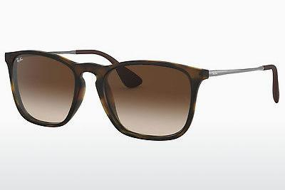 Sonnenbrille Ray-Ban CHRIS (RB4187 856/13) - Braun, Havanna
