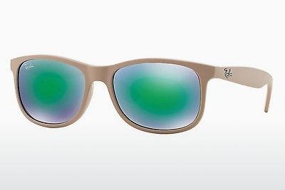 Lunettes de soleil Ray-Ban ANDY (RB4202 61543R) - Blanches