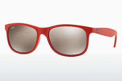 Sonnenbrille Ray-Ban ANDY (RB4202 61555A) - Rot