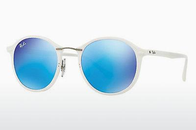 Lunettes de soleil Ray-Ban RB4242 671/55 - Blanches