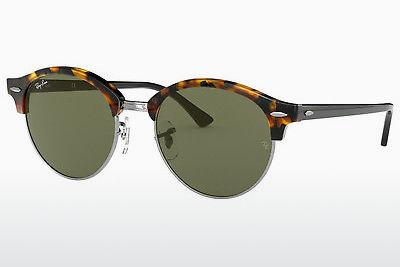 Occhiali da vista Ray-Ban Clubround (RB4246 1157) - Marrone, Avana, Nero
