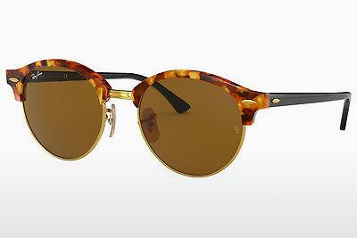Occhiali da vista Ray-Ban Clubround (RB4246 1160) - Marrone