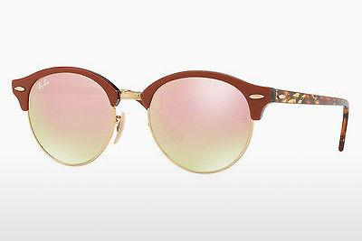 Sonnenbrille Ray-Ban CLUBROUND (RB4246 12207O) - Gold