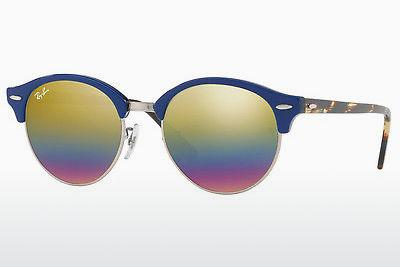 Occhiali da vista Ray-Ban CLUBROUND (RB4246 1223C4) - Grigio, Marrone