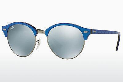 Occhiali da vista Ray-Ban Clubround (RB4246 984/30) - Blu, Nero