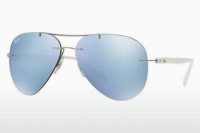 Sonnenbrille Ray-Ban RB8058 003/30 - Silber