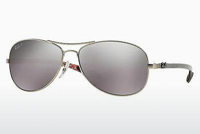 Sonnenbrille Ray-Ban RB8301 019/N8 - Silber