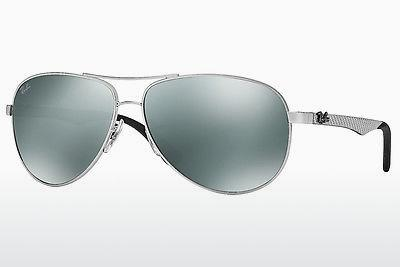 Sonnenbrille Ray-Ban CARBON FIBRE (RB8313 003/40) - Silber