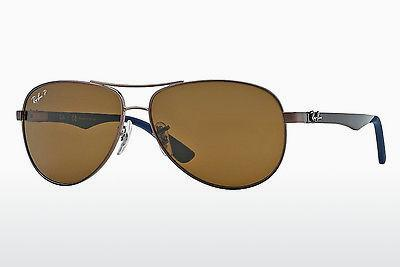 Occhiali da vista Ray-Ban CARBON FIBRE (RB8313 014/N6) - Marrone