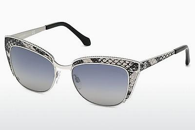 Sonnenbrille Roberto Cavalli RC973S 16C - Silber, Shiny, Grey