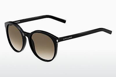 Occhiali da vista Saint Laurent CLASSIC 6 807/HA - Marrone, Nero