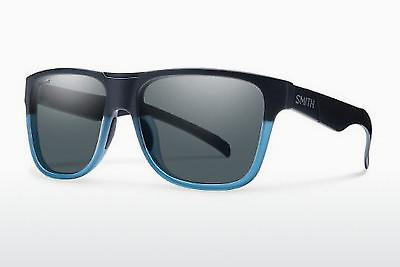Sonnenbrille Smith LOWDOWN XL WKB/EE - Schwarz, Blau