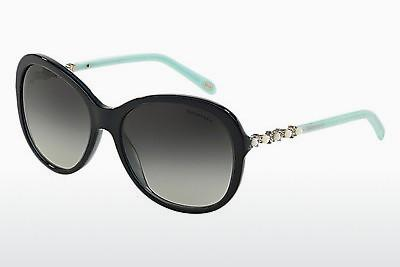 Lunettes de soleil Tiffany TF4104HB 81913C - Blanches, Pearl