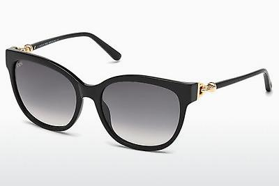 Sonnenbrille Tod's TO0153 01B - Schwarz, Shiny