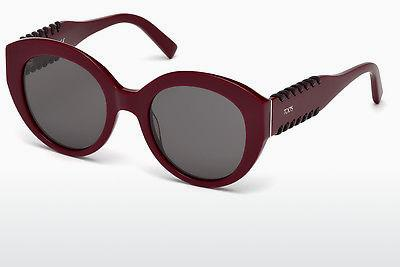 Sonnenbrille Tod's TO0194 69A - Burgund, Bordeaux, Shiny