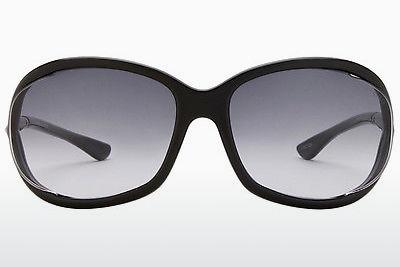 Occhiali da vista Tom Ford Jennifer (FT0008 01B) - Nero, Shiny