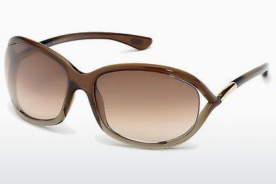 Occhiali da vista Tom Ford Jennifer (FT0008 38F) - Marrone