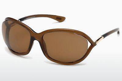 Occhiali da vista Tom Ford Jennifer (FT0008 48H) - Marrone, Dark, Shiny