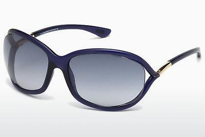Occhiali da vista Tom Ford Jennifer (FT0008 90W) - Blu, Shiny