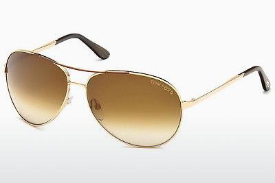 Lunettes de soleil Tom Ford Charles (FT0035 772) - Or