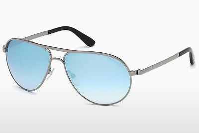 Lunettes de soleil Tom Ford Marko (FT0144 14X) - Grises, Shiny, Bright